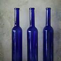 3 Blue Bottles by Harmen Haaima