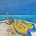3 Boats   by Jan Farara