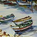 3 Boats I by Xueling Zou