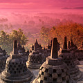 Borobudor Temple by Gloria & Richard Maschmeyer - Printscapes