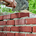 Bricklaying by Patricia Hofmeester