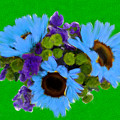 Bunch Of Pretty Flowers by Bruce Nutting