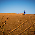 Tracks In The Sahara by Rene Triay Photography