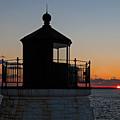 Castle Hill Light Newport Rhode Island by Jason O Watson