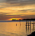 Cedar Key Sunset by Charlotte Johnson