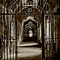 Gate To Cell Block #10 by Paul W Faust - Impressions of Light
