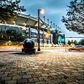 Charlotte North Carolina Street Scenes Early Morning by Alex Grichenko