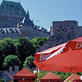 Chateau Frontenac In Quebec City by Carl Purcell