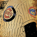 Chicago Cubs Baseball Team Vintage Card by Drawspots Illustrations