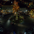 Christmas Lights, Looking West by Richard Jarcy