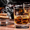 Cigar And Alcohol Collection by Marvin Blaine