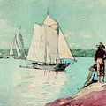 Clear Sailing by Winslow Homer