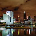 Cleveland Skyline At Night by Cityscape Photography