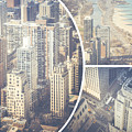 Collage Of Chicago  by Mariusz Prusaczyk