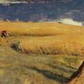 Cornfield At Ewell by William Holman