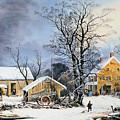 Currier & Ives Winter Scene by Granger