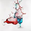 Dancing Drinks by Peter Lakomy