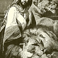 Daniel In The Lions Den by English School
