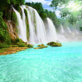 Detian Waterfall by MotHaiBaPhoto Prints