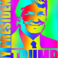 Donald Trump 2016 Presidential Candidate by Elena Kosvincheva
