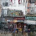 Dublin In The Rain. by Rob Huntley