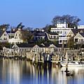 Edgartown Harbor by John Greim