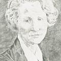 Edna St. Vincent Millay by Dennis Larson