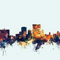 El Paso Texas Skyline by Michael Tompsett