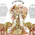 Elephants Ketubah- Reformed Humanistic Version by Sandrine Kespi