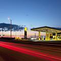 Estonian Gas Station by Jaak Nilson