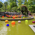 Chihuly Exhibition In The Atlanta Botanical Garden. #01 by Irina Moskalev