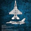 F16 Fighting Falcon by J Biggadike
