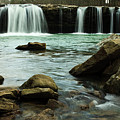 Falling Water Falls by Iris Greenwell