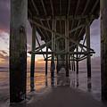 Fernandina Beach Pier by Peter Lakomy