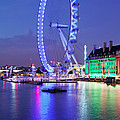 Ferris Wheel At The Waterfront by Panoramic Images