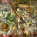 3 Figures by Roberta Malkin