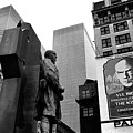 Film Homage The Fighting 69th 1940 Fr. Duffy Statue Yul Brynner Palace Theater New York 1977 by David Lee Guss