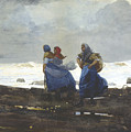 Fishwives  by Winslow Homer