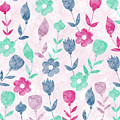 Floral Pattern  by Amir Faysal