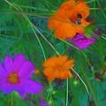 Flower Painting by Debra Lynch