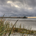 Folly Beach Pier  by Dustin K Ryan
