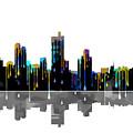 Fort Worth Texas  Skyline by Marlene Watson