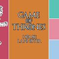 Game Of Thrones. Lannister. by Anna J Davis