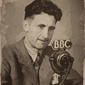 George Orwell 1 by Afterdarkness