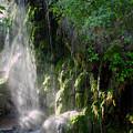 Gormon Falls Colorado Bend State Park.  by James Smullins