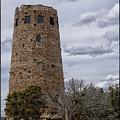 Grand Canyon Indian Watchtower by Toula Mavridou-Messer