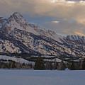 Grand Teton Winter Dawn by Stephen  Vecchiotti