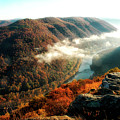 Grandview New River Gorge by Thomas R Fletcher