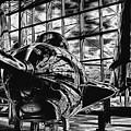 Grumman F9f-8 Cougar by David Patterson