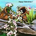Happy Valentines  by Aline Halle-Gilbert